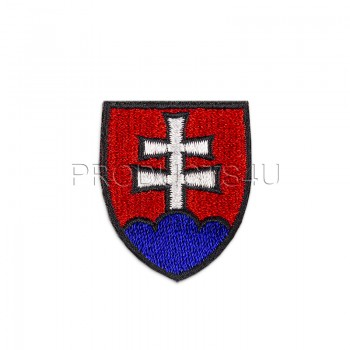 PATCH - COAT OF ARMS OF SLOVAKIA, small