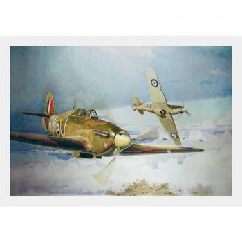 CANVAS - Hawker Hurricane-Tally Ho !