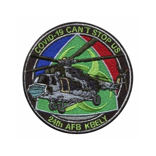 PATCH - COVID 19, CAN´T STOP US, MI17