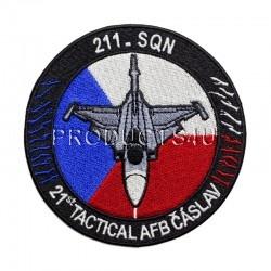 Nášivka - 211SQN - 21st TACTICAL AFB ČÁSLAV