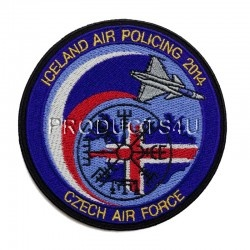 Nášivka - ICELAND AIR POLICING 2014