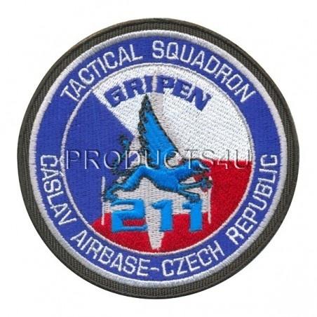 PATCH - 211 TACTICAL SQUADRON (AIRBASE ČÁSLAV)