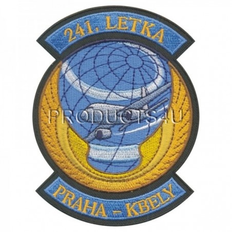 Patch 241.letka Dopravního letectva Praha Kbely, standard color