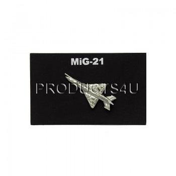 Odznak MiG-21 stříbrný