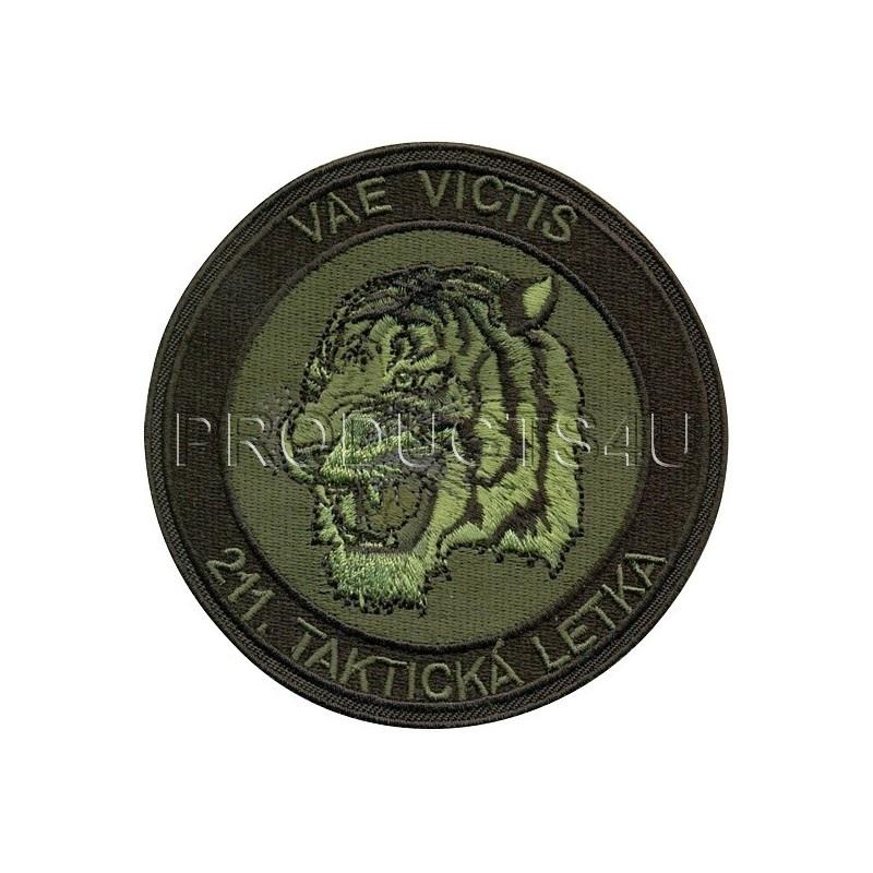 PATCH - 211. TAKTICKÁ LETKA - VAE VICTIS - STANDARD COLOR