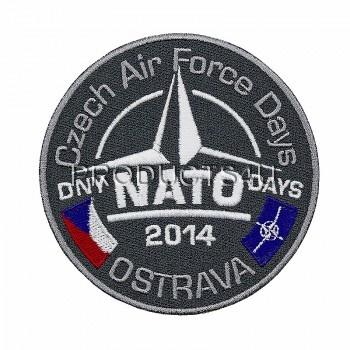 Nášivka NATO DAYS 2014, barevná