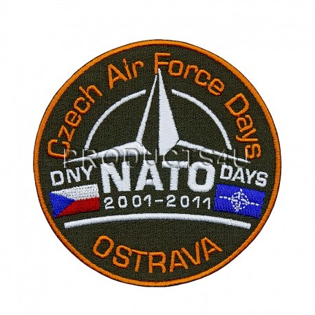 Nášivka NATO DAYS 2011, barevná