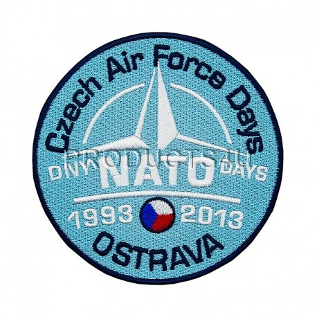 Nášivka NATO DAYS 2013, barevná